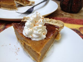 """Easy"" Maple Pumpkin Pie"