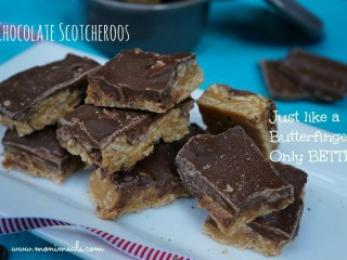 EASY Chocolate Scotheroos