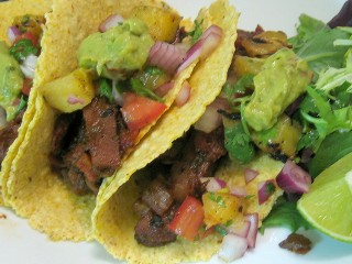 Black Bean Tacos with Seitan