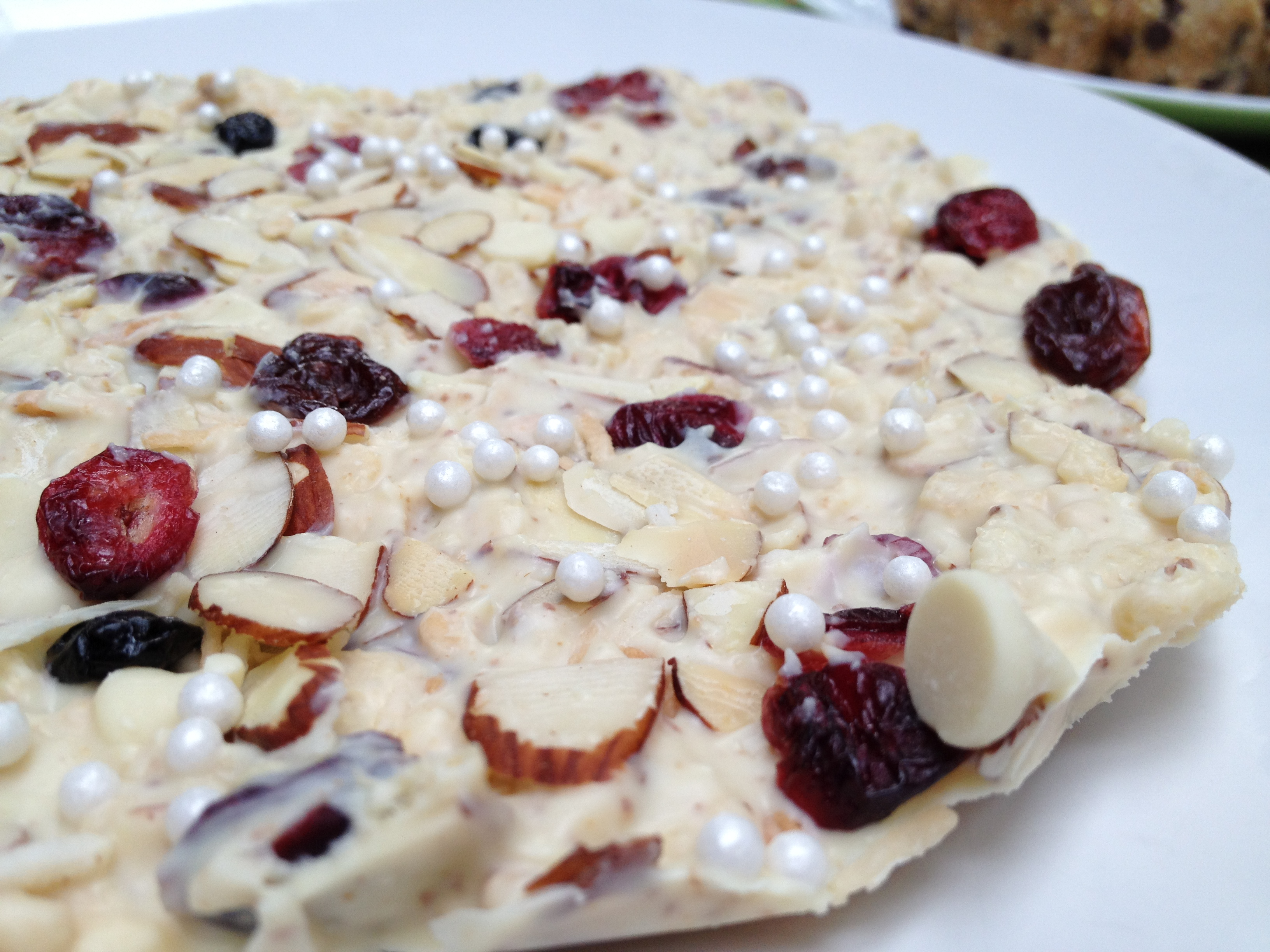 White Chocolate Moni Bark
