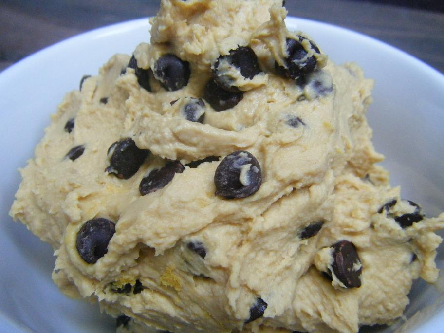 PB Butter Chocolate Chip Dessert Hummus