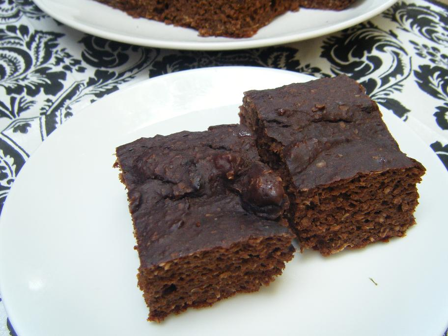 Chocolate Protein Cake Bars