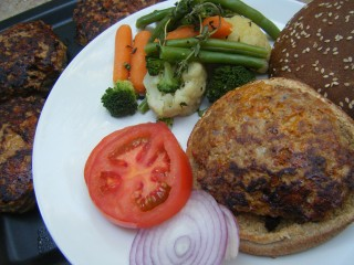 Knife and Fork Chili Turkey Burgers