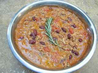 Veggie/Turkey Chili