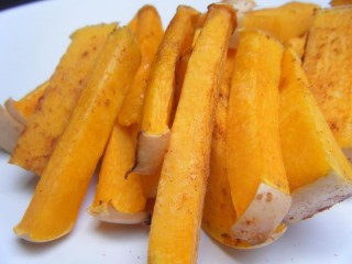 "Sweet Butternut Squash ""Fries"""
