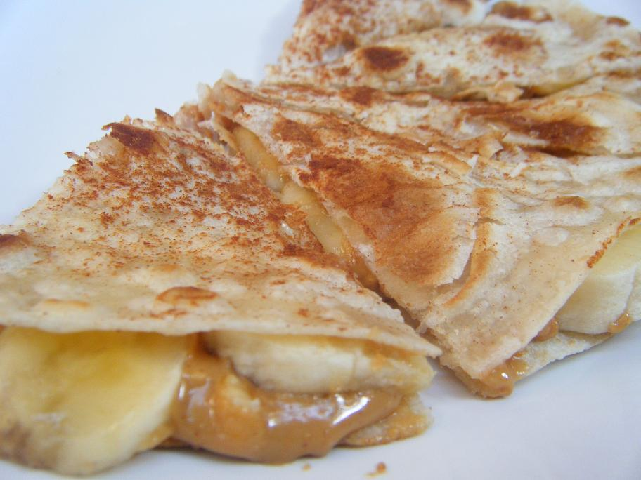 Peanut Butter and Banana Quesadilla | MoniMeals