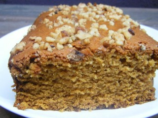 Pecan Topped Pumpkin Bread