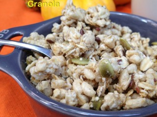 """Light"" Pumpkin Seed Granola"