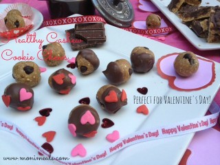 Moni Cashew Cookie Chews = Valentine's Day Edition