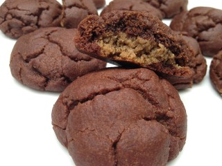 Surprise Sunflower Seed Butter Chocolate Cookies