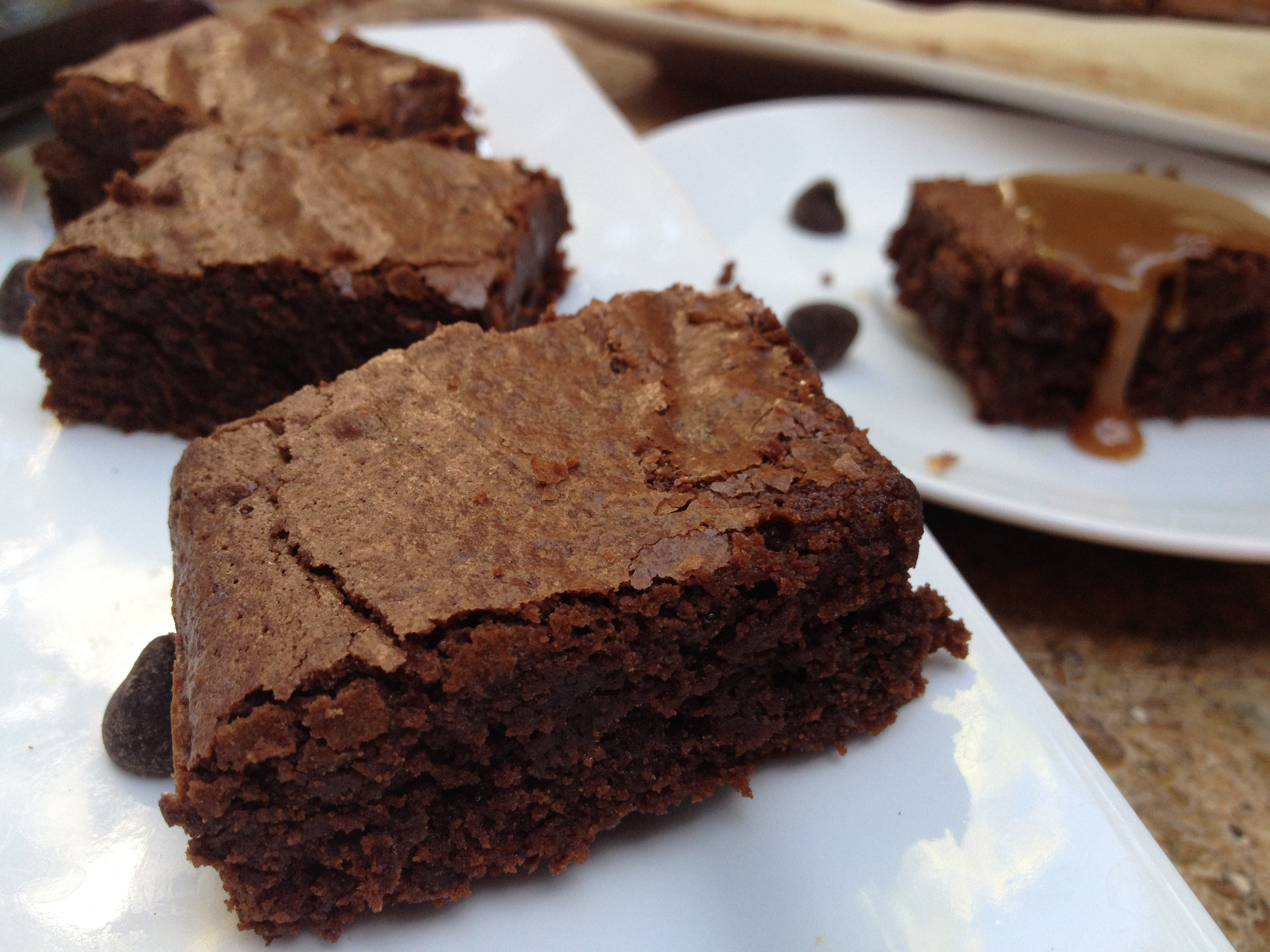 THE ULTIMATE Gluten-Free Brownies with Homemade Caramel ...
