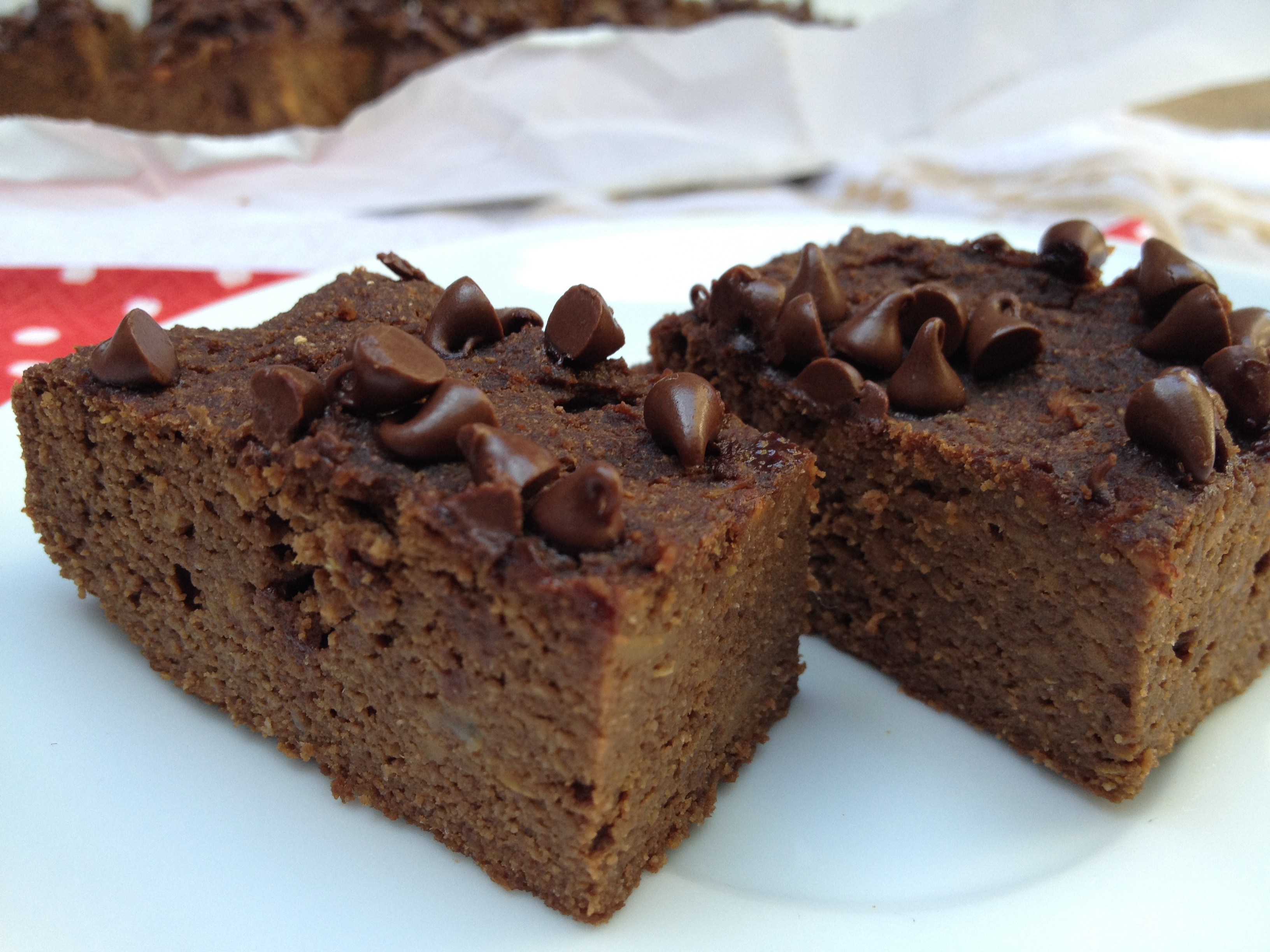 Sweet Potato Protein Brownie