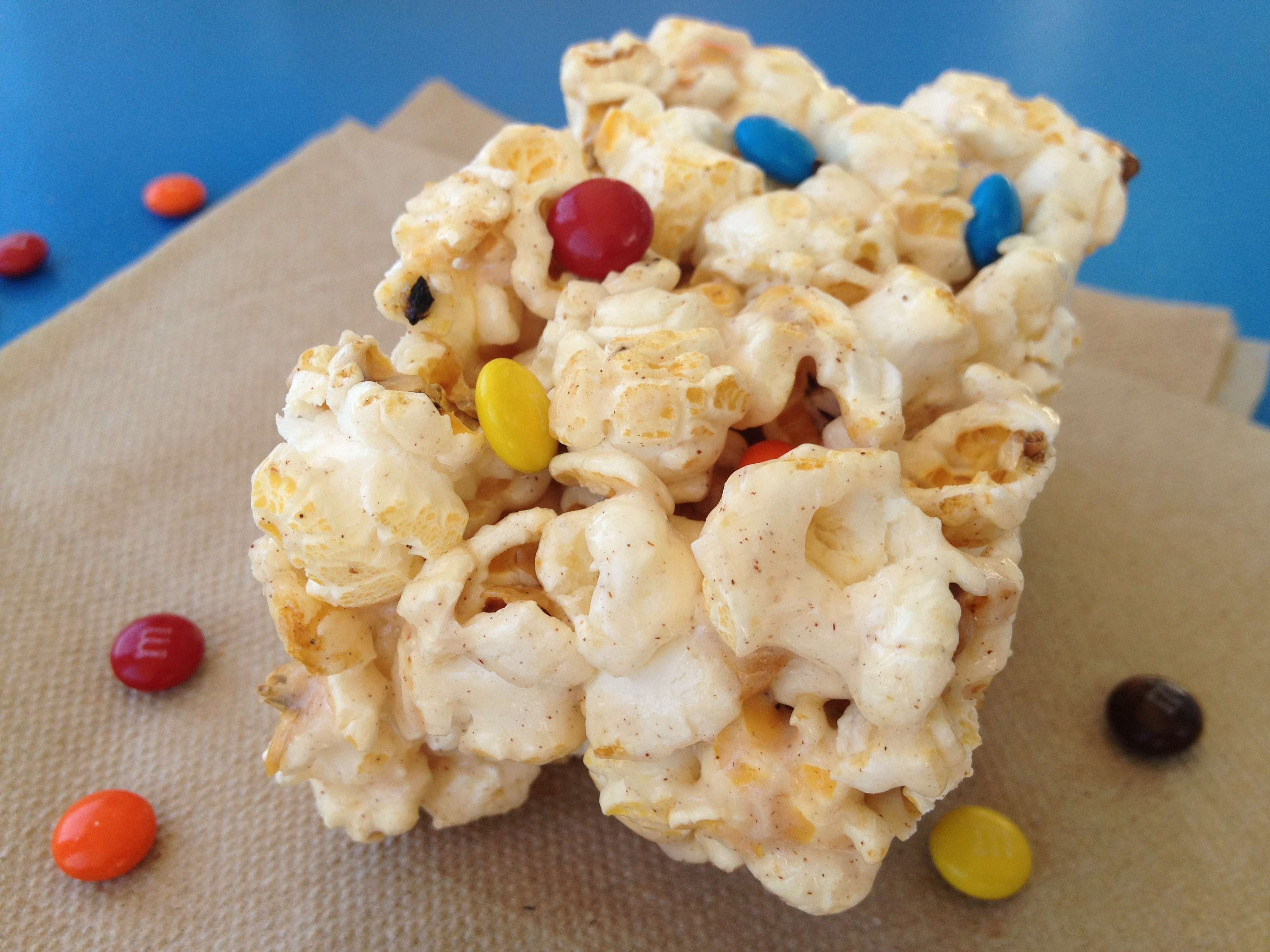 Vanilla Popcorn Treats