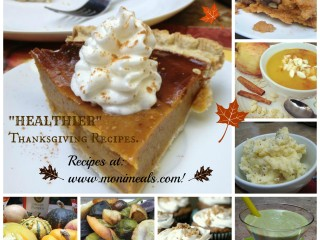 """Healthier"" Thanksgiving Recipes from Moni's Meals!"