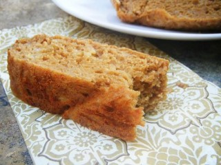 Banana Bread with Peanut Flour