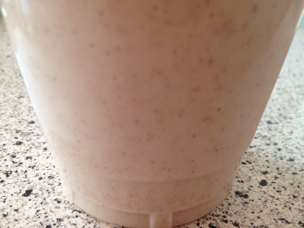 Double Vanilla Homemade Almond Milk