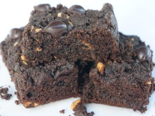 Grain Free Chocolate Peanut Butter Brownies