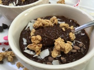 Double Chocolate PB Chia Seed Pudding 4