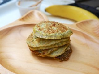 3 Ingredient Healthy Pancakes