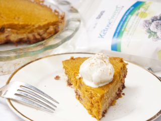 Lower Sugar Pumpkin Pie