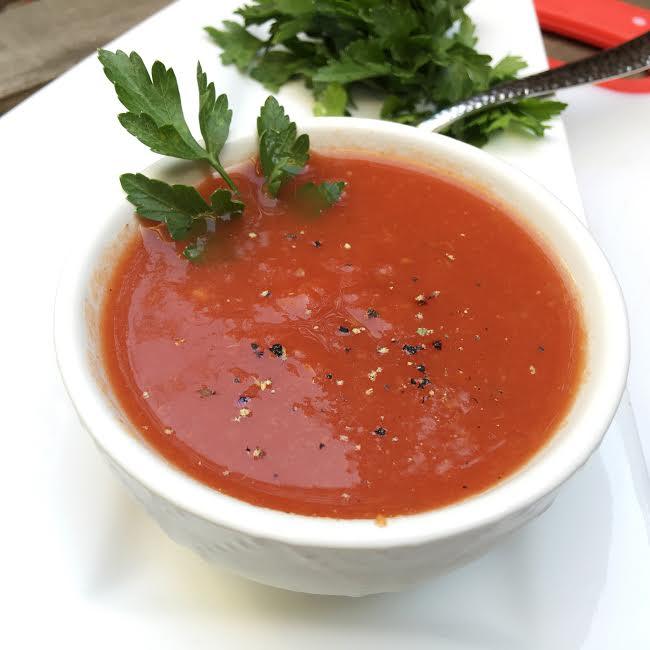 Double Tomato Soup a