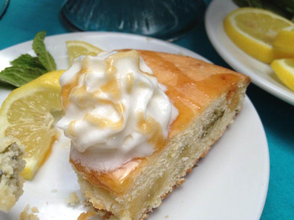 Lemon Mint Cake