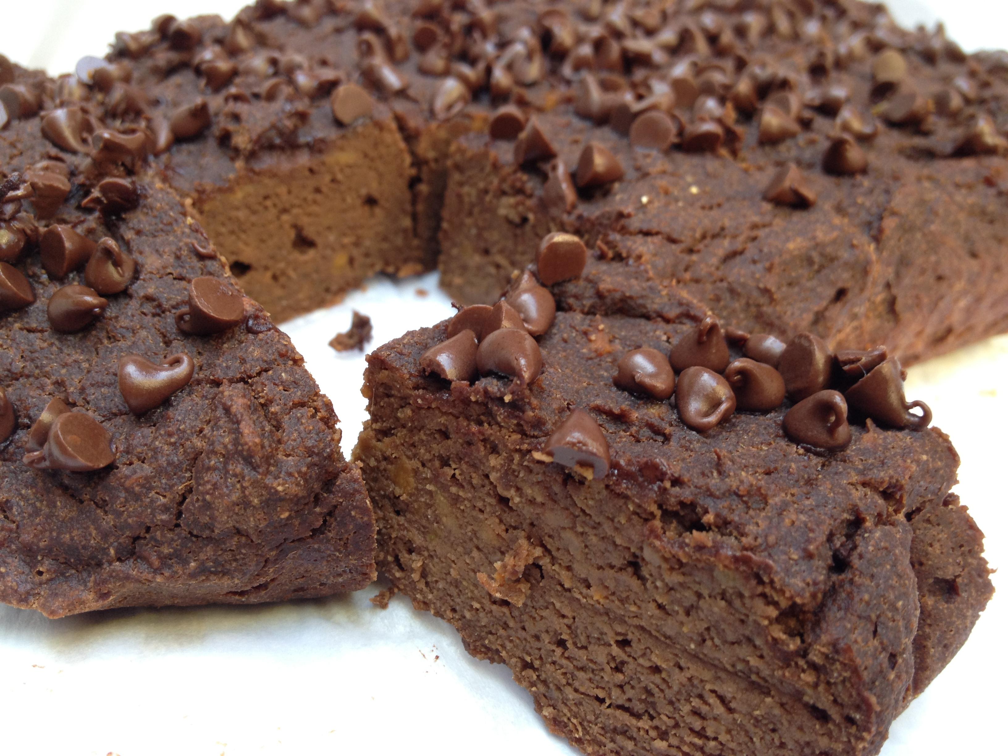 Sweet Potato Protein Brownie