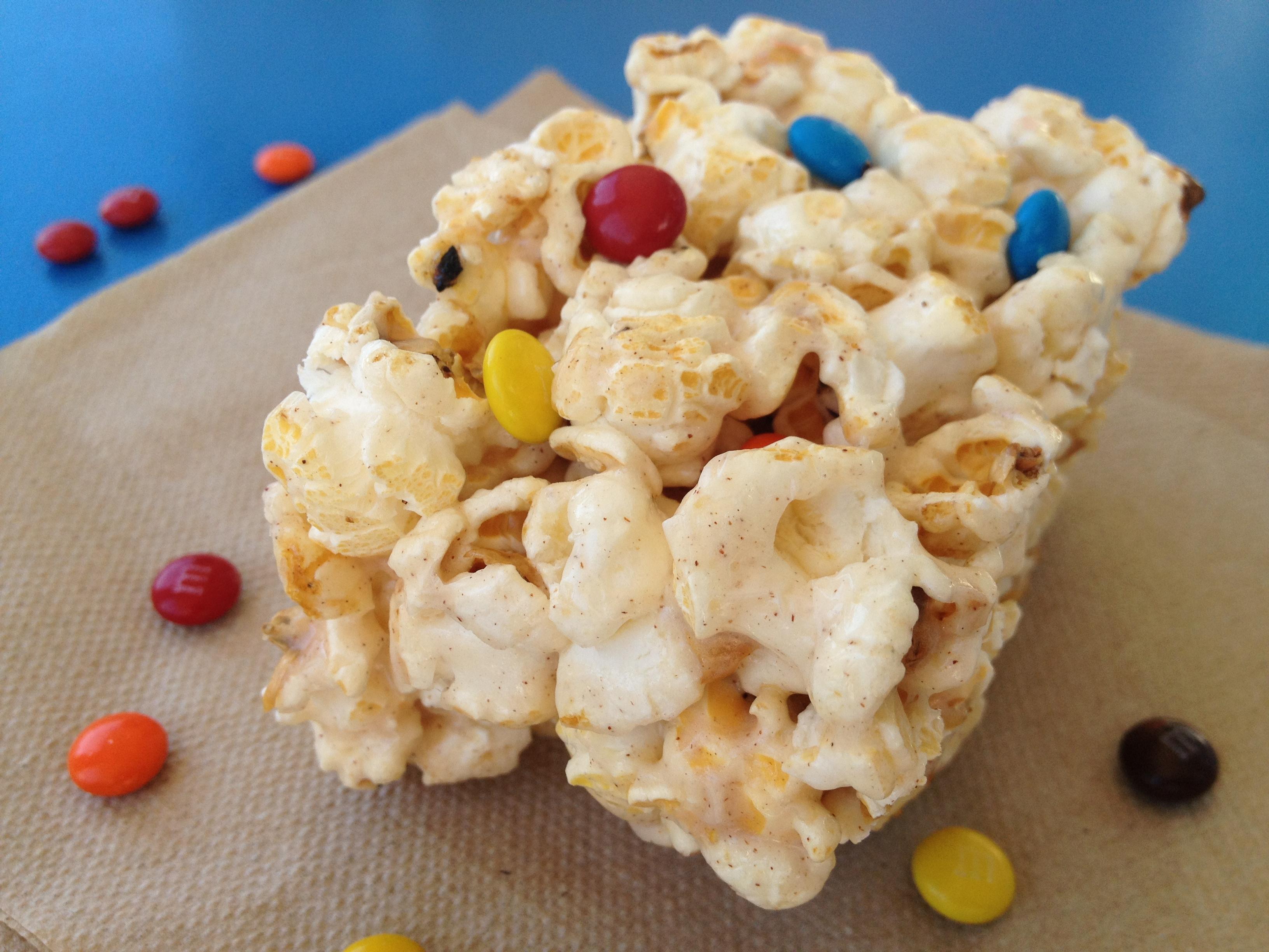 Vanilla Popcorn Treats