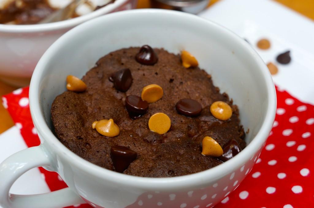 Healthy Gluten Free Chocolate Mug Cake