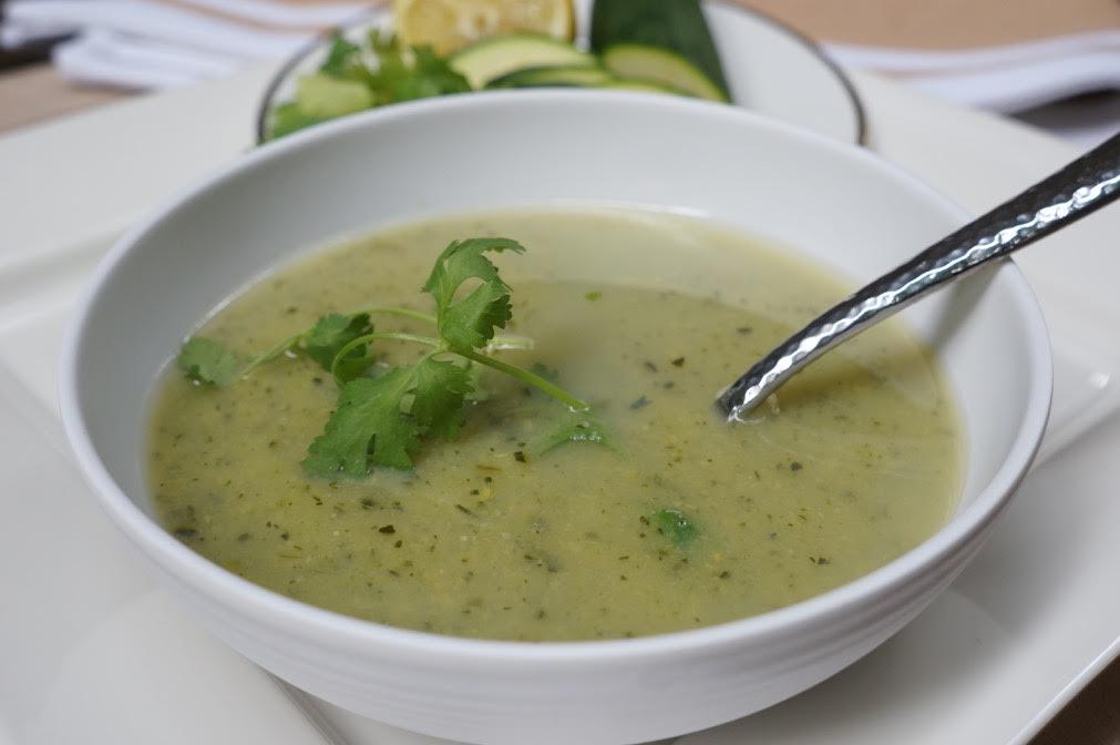 Healthy Zucchini Soup