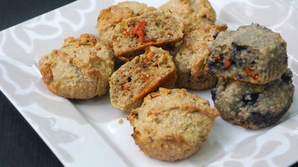 Goji Nut Muffins