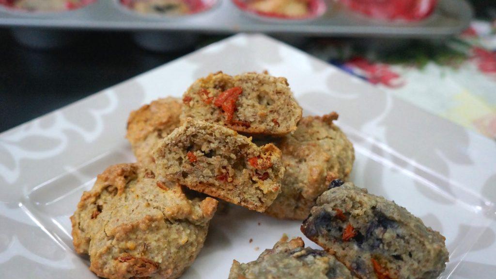 goji nut muffins 2