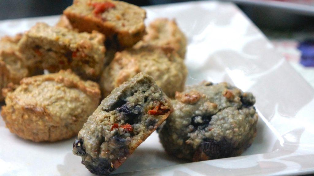goji nut muffins 3