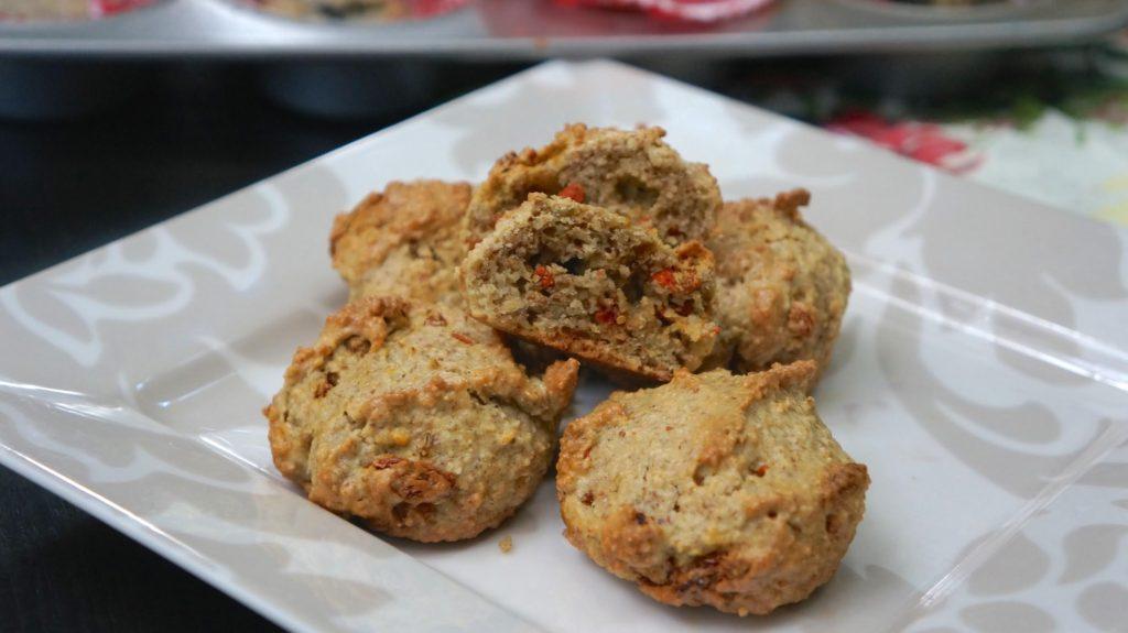 goji nut muffins 4